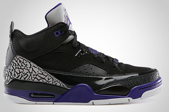 Jordan Son Of Mars Low Black Grape Ice Sneakernews Com