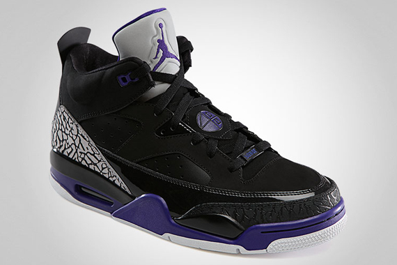 size 40 5103e b894b Jordan Son of Mars Low – Black – Grape Ice