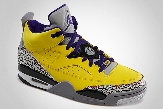 jordan son of mars low quottour yellowquot sneakernewscom