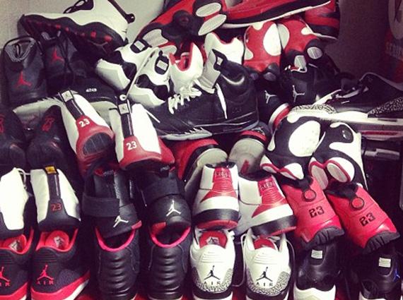 "Nate Robinson's ""Chicago Bulls"" Air Jordan Rotation ..."