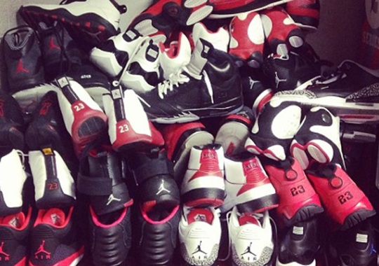 "Nate Robinson's ""Chicago Bulls"" Air Jordan Rotation"