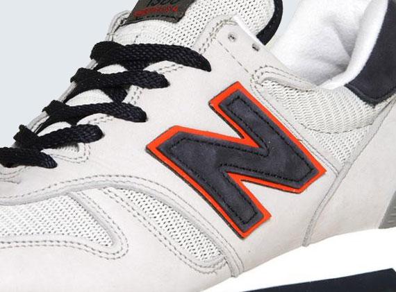 new balance 1300 grey orange