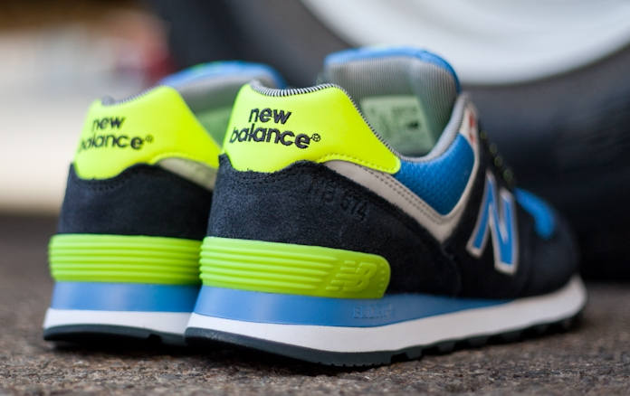 new balance 574 yacht club navy