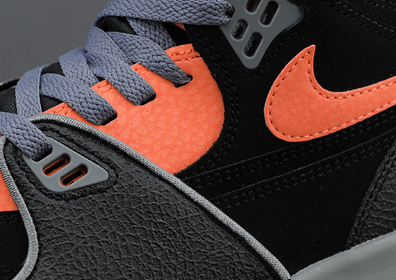 size 40 fd497 b97c8 Nike Air Flight  89 - Black - Bright Citrus - Cool Grey - SneakerNews.com