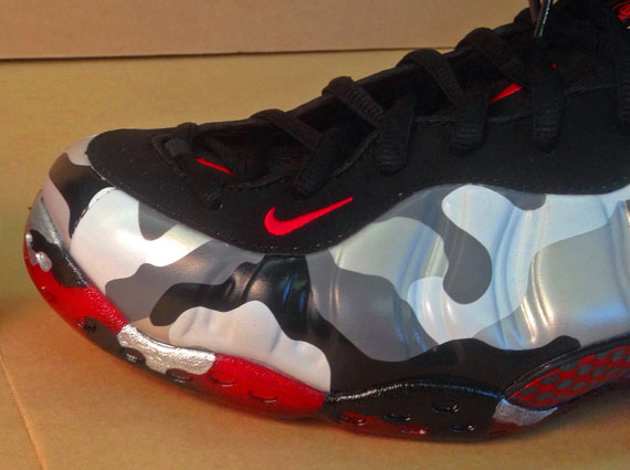 "Nike Air Foamposite One ""Figher Jet"" - Camo Sole Customs ..."