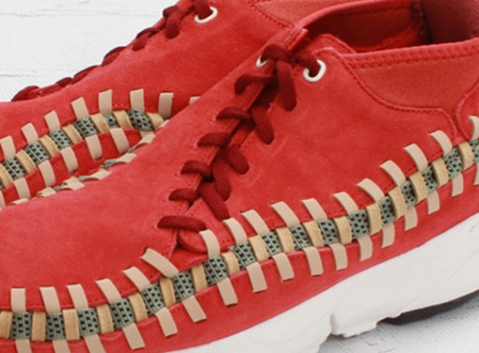 """Nike Air Footscape Woven Chukka Knit """"Red Reef"""" – Available"""