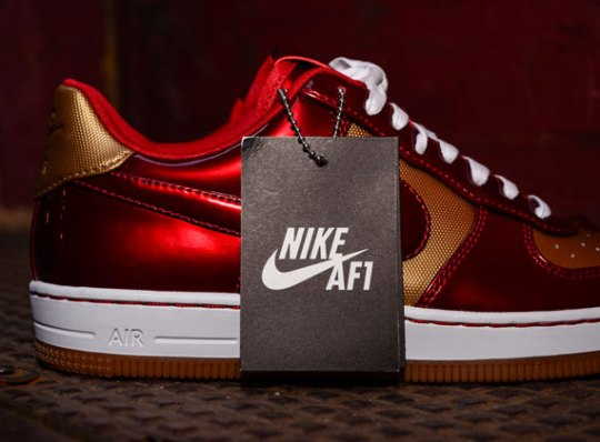 """Nike Air Force 1 Downtown """"Ironman"""" – Available"""