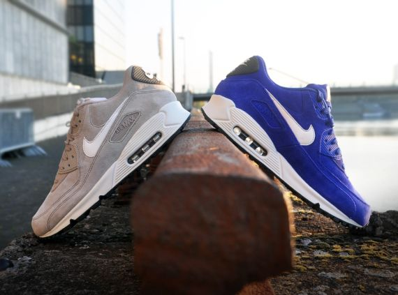 Nike Air Max 90 Blue Suede