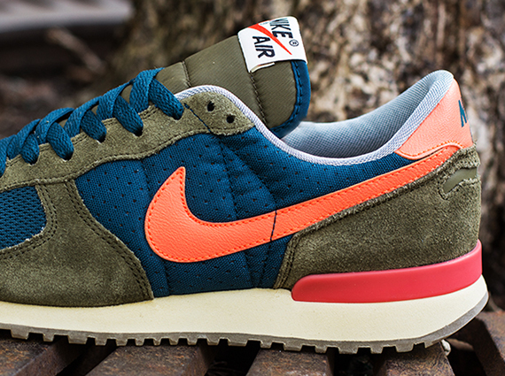 new style f1d16 0ee6f Nike Air Vortex VNTG – Mid Turquoise – Total Crimson – Squadron Green – Sail