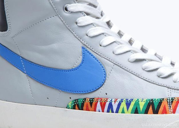 rango Comienzo Complejo  Nike Blazer Mid '77 Premium VNTG - Strata Grey - Photo Blue -  SneakerNews.com