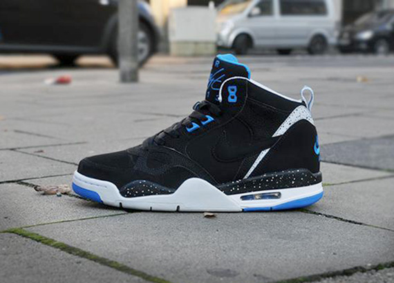 375f54c12b3a1b Nike Flight  13 Mid - Black - Photo Blue - SneakerNews.com
