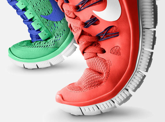 Tomorrow marks the arrival of a couple new Nike Free models over at NIKE iD.  The styles include the Nike Free 3.0, which introduces engineered mesh to  the ...