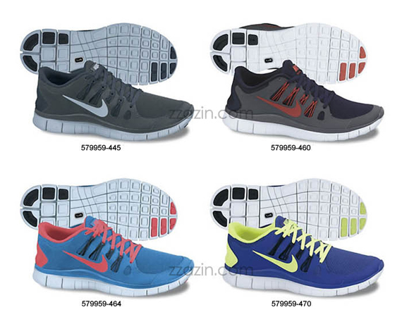Nike Free 5.0+ Upcoming Colorways