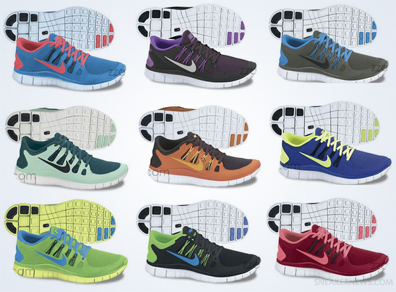 Nike Free 5.0 Id Running Shoes