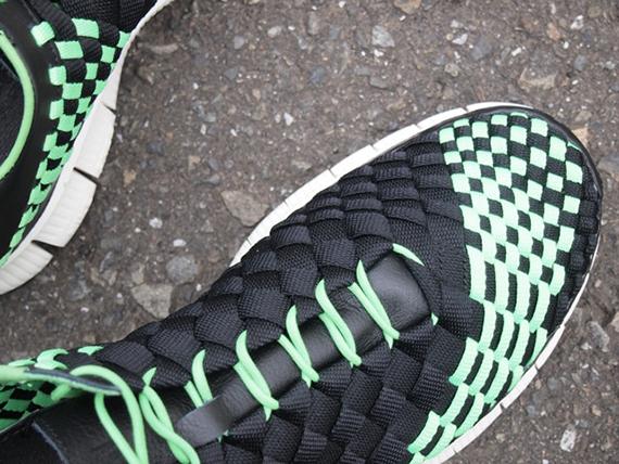 competitive price 615b7 d9155 Nike Free Inneva Woven – Black – Poison Green