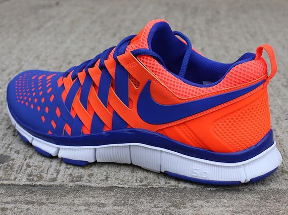 new product 6253c 4c519 Nike Free Trainer 5.0 NRG Total Crimson Hyper Blue-White 579813-800  95.  Advertisement