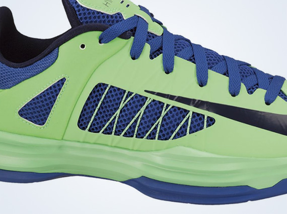 huge selection of 8faef cccab Nike Hyperdunk 2012 Low – Poison Green – Hyper Blue
