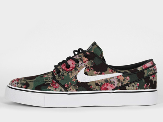 "The Nike Janoski ""Floral Digi-Camo"" is beginning to pop up at select Nike  SB retailers like scenepreston so check out the multiple angles below and  stay ... 26c06310902a"