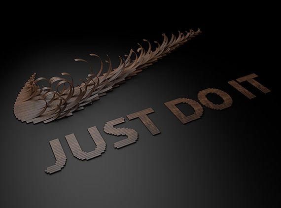 Nike quot just type it quot wooden slats typography by txaber sneakernews