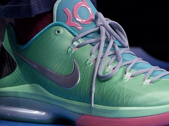 Nike KD V Elite – Mint – Pink