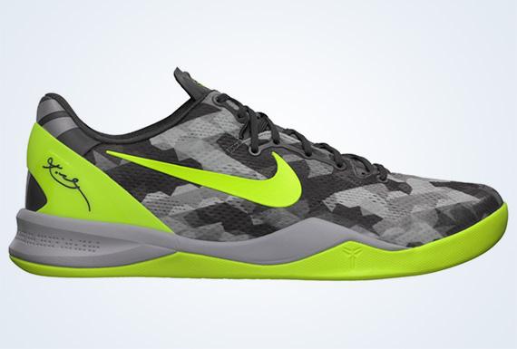 Nike Zoom Kobe 8 VIII Volt Black