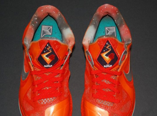 "Nike LeBron 9 Low ""Big Bang"" by JP Custom Kicks"