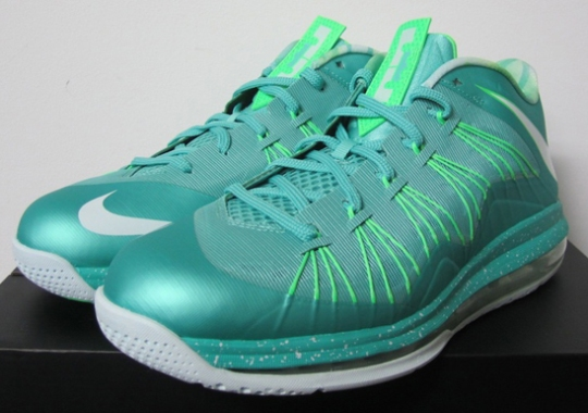 """online retailer 0db83 3e91a Nike Air Max LeBron X Low """"Easter"""" – Release Reminder"""