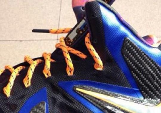 "Nike LeBron X P.S. Elite ""Hyper Bue"""