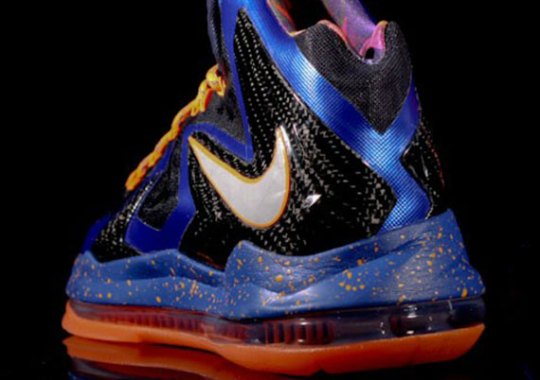 "Nike LeBron X PS Elite ""Superhero"""