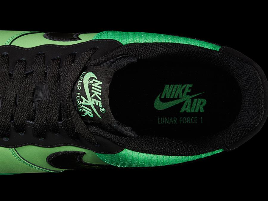 Nike Lunar Force 1 LTR Poison GreenBlack | Nike | Sole