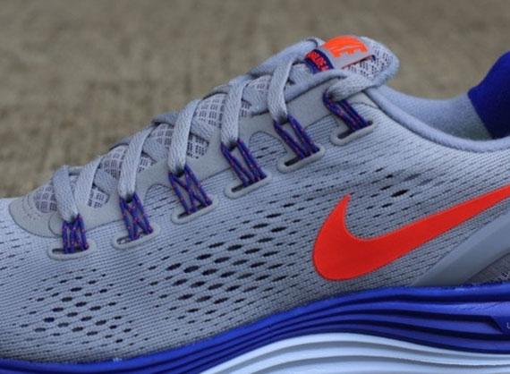 81e6f92c4d64 Nike LunarGlide+ 4 - Wolf Grey - Total Crimson - Hyper Blue ...