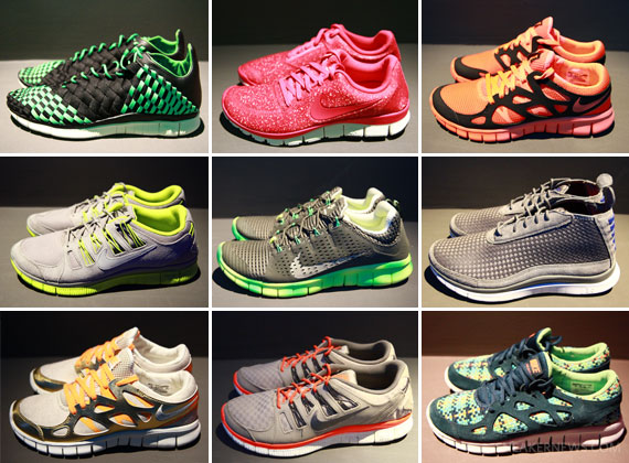 Nike Free - Spring/Summer 2013 Preview
