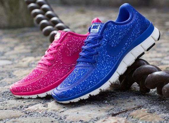 40cb206a0172 Nike WMNS Free 5.0 V4 - April 2013 Colorways - SneakerNews.com