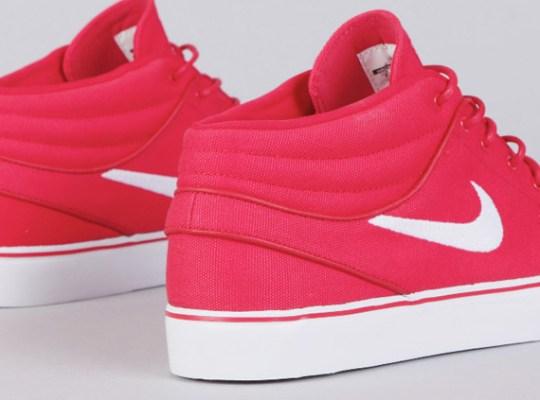 "Nike Zoom Stefan Janoski Mid ""University Red"""