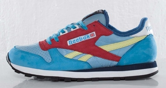 """5b6a039aaff Stay with us after the jump to get a full look at the Packer Shoes x Reebok  Classic Leather """"Aztec"""" and watch for them to release tomorrow at spots ..."""