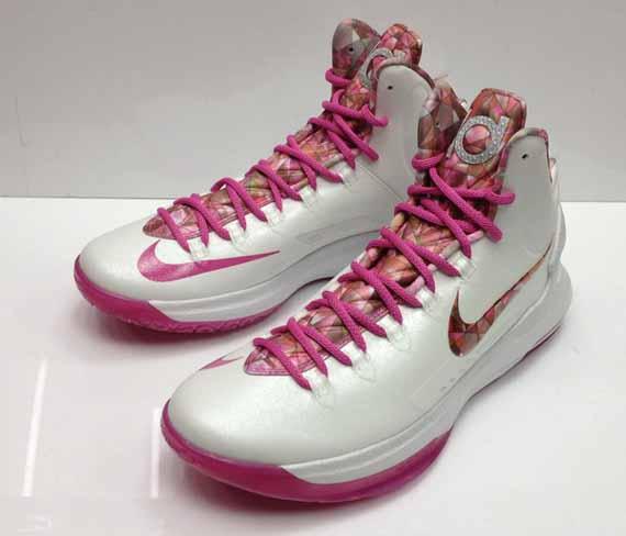 Nike KD V Premium Metallic Summit White Pinkfire II 598601-100 03 23 13   135 · Nike KD 5 quot Aunt Pearlquot lovely · Nike KD 5 quot Aunt Pearlquot  lovely 80ec3afd3