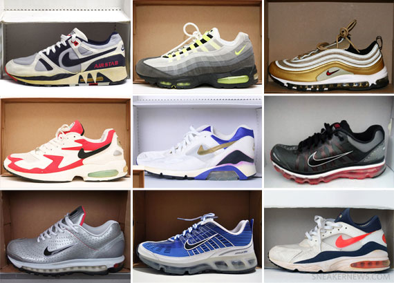 Sneaker News Presents: 25 Years of Visible Air on