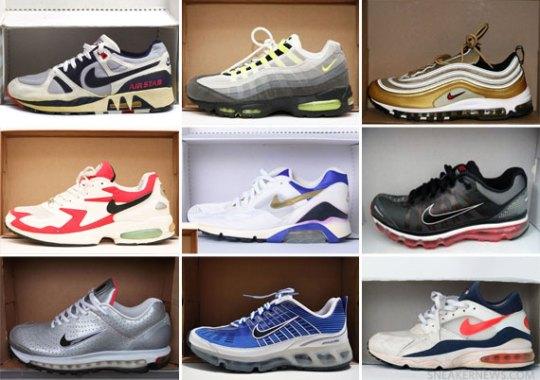 Sneaker News Presents: 25 Years of Visible Air on Sneakerpedia