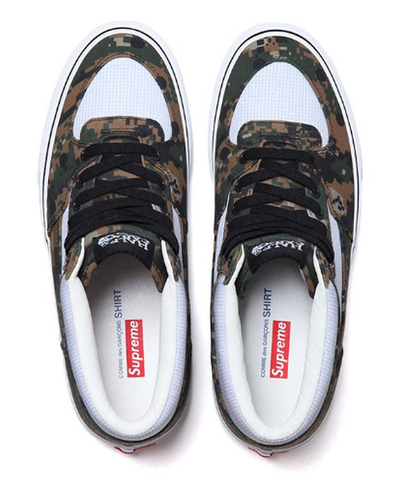 35babaf53e Get a full look at the 2013 Supreme x Comme des Garcon x Vans set right  after the jump and watch for the sneakers to release in June of 2013.