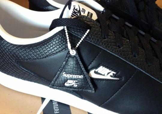 Supreme x Nike SB Tennis Classic – Black