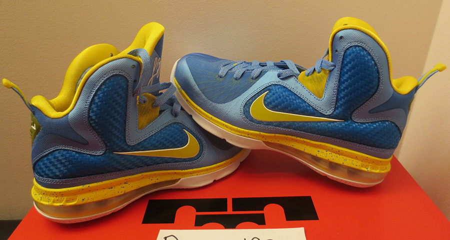 ... this unreleased version of the LeBron 9 is as rare as they come d7bd4f3d2