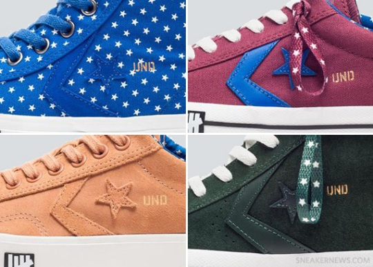 "UNDFTD x Converse ""Born Not Made"" – Spring/Summer 2013 Collection"