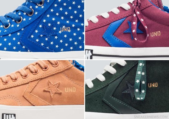"""UNDFTD x Converse """"Born Not Made"""" – Spring/Summer 2013 Collection"""