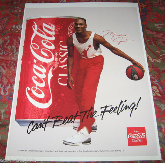 brand new aa1a4 961ce Vintage Michael Jordan Ad Posters - SneakerNews.com
