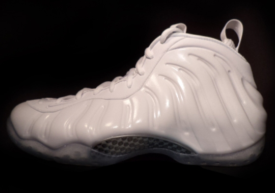"""Nike Air Foamposite One """"White"""" – Release Reminder"""