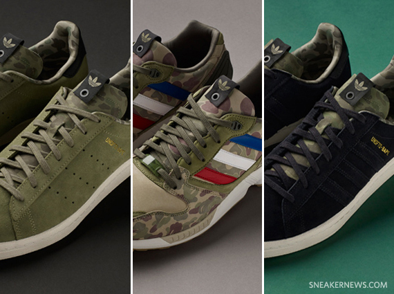 3c9bf0b00e58 BAPE x UNDFTD x adidas Originals Consortium Collection - Release Reminder -  SneakerNews.com