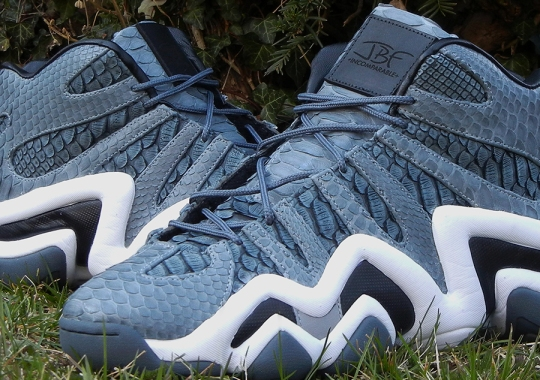 "adidas Crazy 8 ""Python"" Customs for Iman Shumpert by JBF"