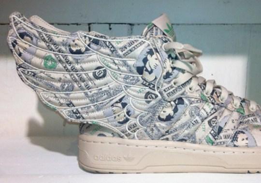 "Jeremy Scott x adidas Originals Wings 2.0 ""Dollars"""