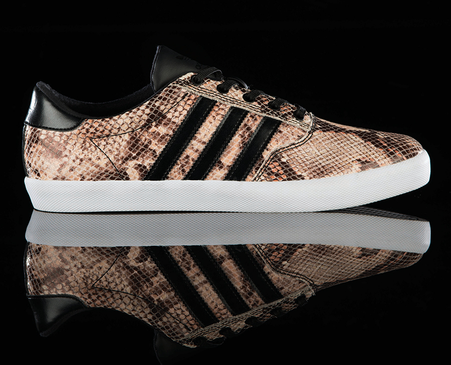 "quality design 67c71 a10b8 The release date for the adidas Originals Adi MC Slow ""Snake Skin"" is April  12th at select adidas Originals retailers like Shiekh Shoes, Jimmy Jazz, ..."