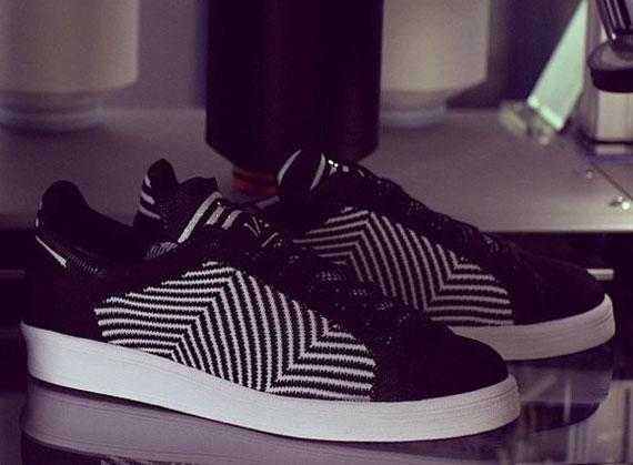 adidas SLVR Primeknit – Black – White